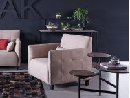 Josee 1 Seater Fabric Armchair