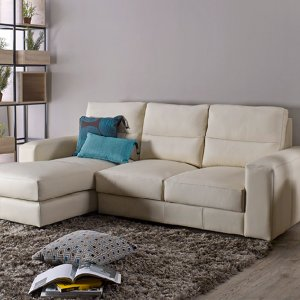 Tres L-Shape Leather Sofa