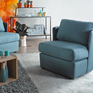 Vox 1 Seater Fabric Armchair