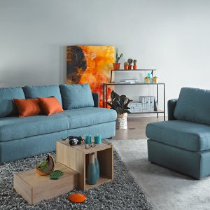 Vox Fabric Sofa Package
