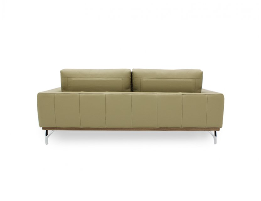 Yves 3 Seater Leather Sofa