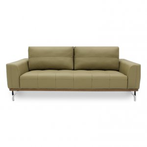 Yves 2 Seater Leather Sofa
