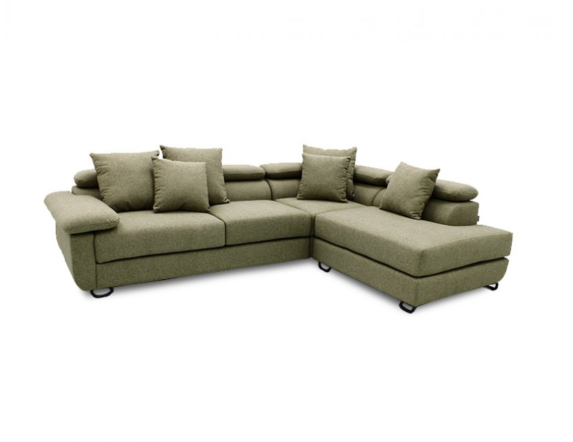 Apollo L-Shape Fabric Sofa