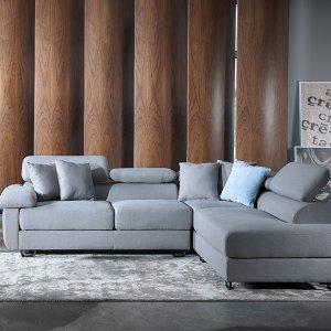 Apollo L-Shape Fabric Sofa
