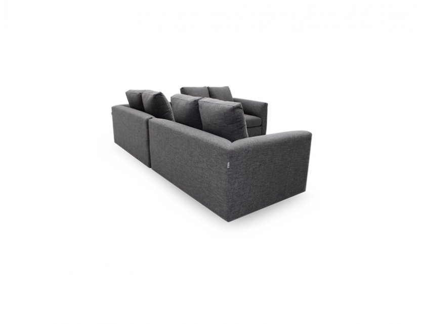 Evita L-Shape Fabric Sofa