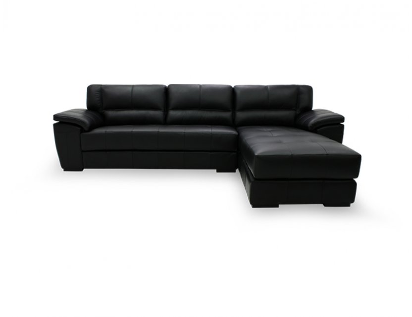 Ola L-Shape Leather Sofa
