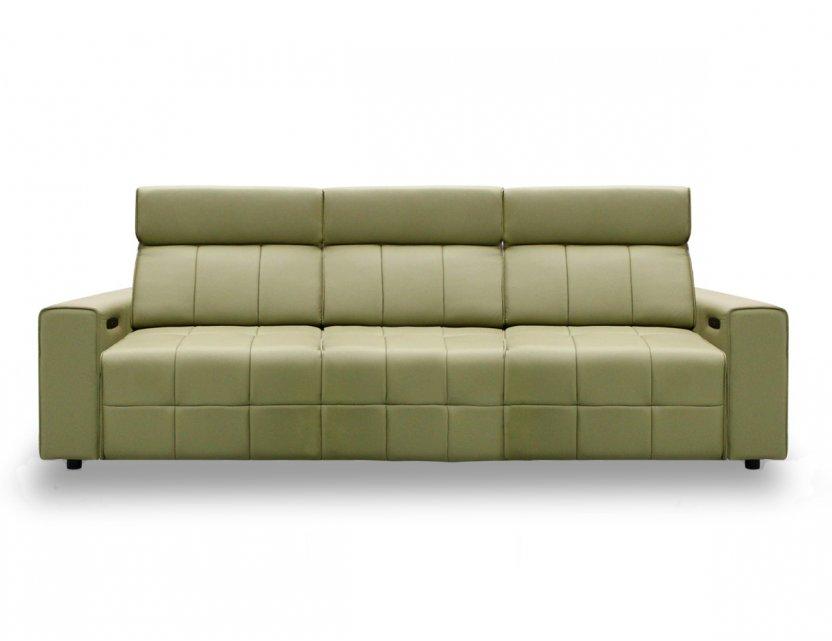 Pac Motorised Recliner Leather Sofa