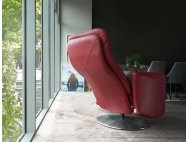 Seva Motorised Leather Recliner Armchair