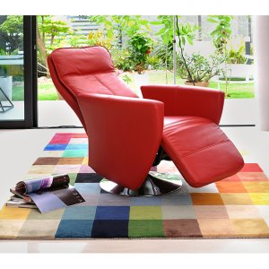 Seva Motorised Leather Recliner Armchair