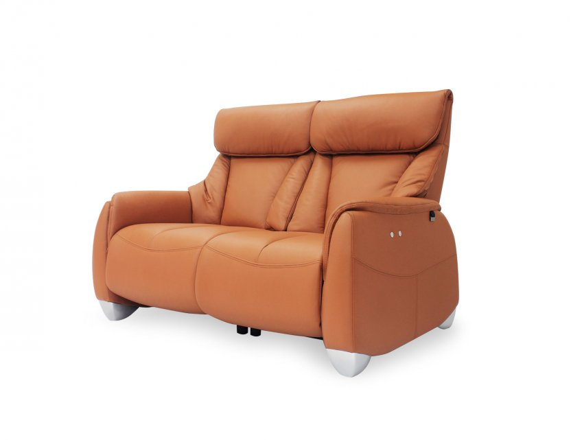 Sho Motorised Leather Recliner Sofa with High Backrest and Touch Sensors