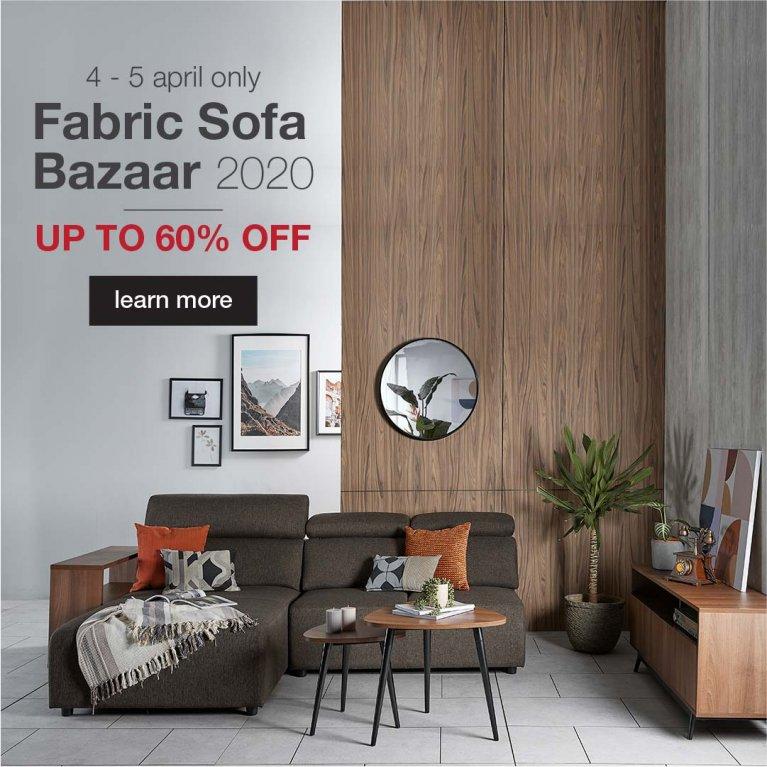 Fabric Sofa Bazaar