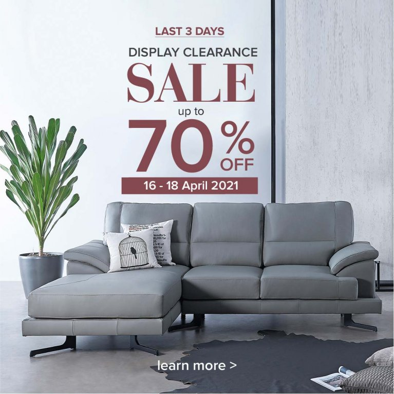 PT display clearance