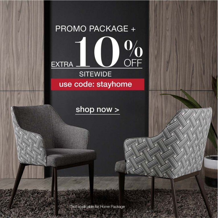promo package plus extra 10off