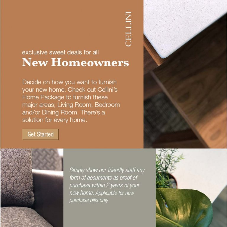 New Homeowner Perks