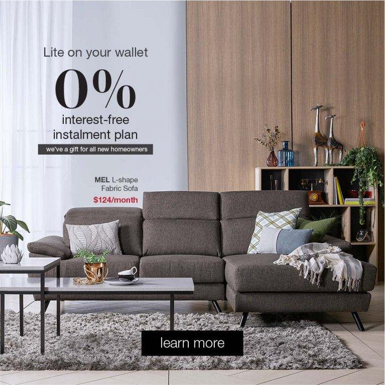 0% Interest-free Instalment Plan