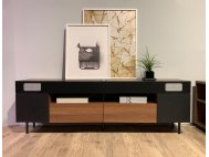 Muse TV Console with USB Ports and Bluetooth Speakers