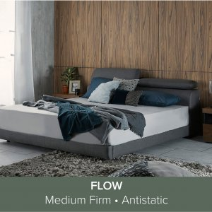 Apollo Bedframe with Storage and Adjustable Headboard and Flow Mattress 13
