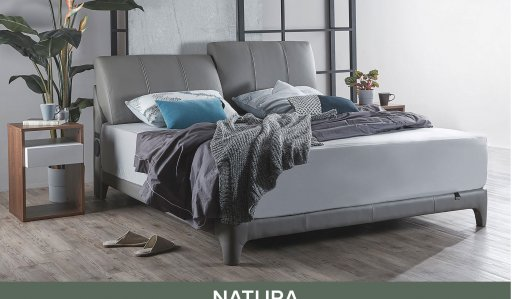 Gaze Bedframe With Usb Ports And, Sleigh Bed Queen Size Mattress