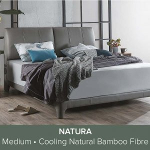 Gaze Bedframe with USB Ports and Bluetooth Speakers with Natura Mattress 13