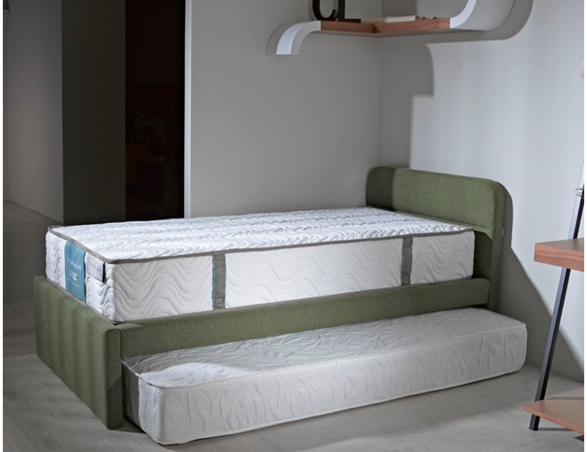 Holly Bed Frame With Pull Out Mattress + 1 Holly Spring Mattress
