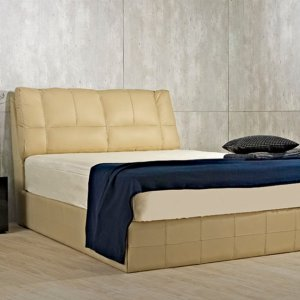 Ola Slim Bedframe with Tufted Headboard
