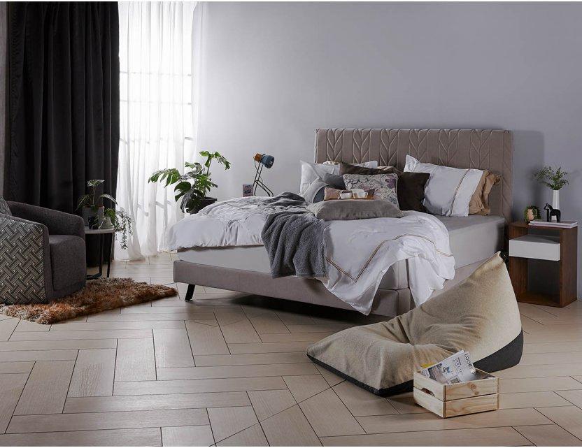 Ribb Bedframe in FabricGard