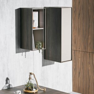 Bezel Wall Hanging Closed Cabinet