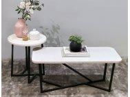 Dutch Quartz Top Coffee Table