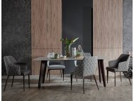 Hatch Dining Chair with Armrest