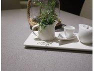 Bolda Grey Quartz Top Dining Table 1.8m with Flex Dining Chairs