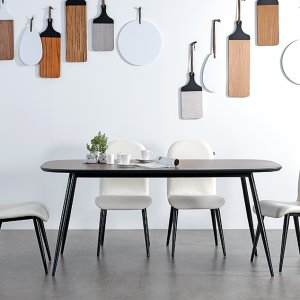 Dansk Dining Table 1800mm with 4 Chairs