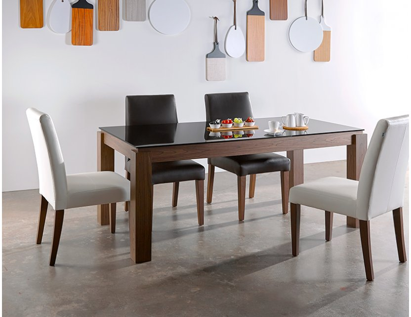 Max Glass Dining Table