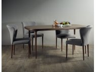 Radium Solid Wood Dining Table