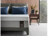 """Gaze Bed frame with USB Ports and Bluetooth Speakers with Flow Mattress 13"""""""