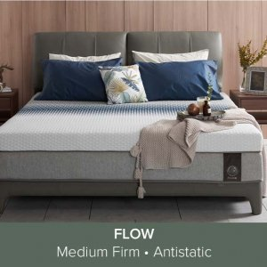 Gaze Bed frame with USB Ports and Bluetooth Speakers with Flow Mattress 13