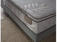 """Gaze Bedframe with USB Ports and Bluetooth Speakers with Natura Mattress 13"""""""
