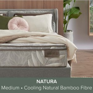 Naturally Hypoallergenic Bamboo Fibre and Latex Responsive Coil Support