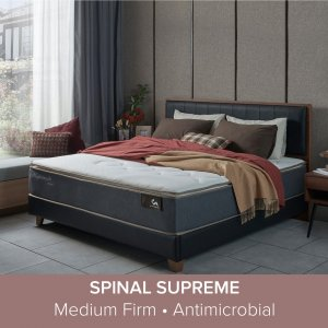 Trinity Bedframe With Spinal Supreme Mattress 12