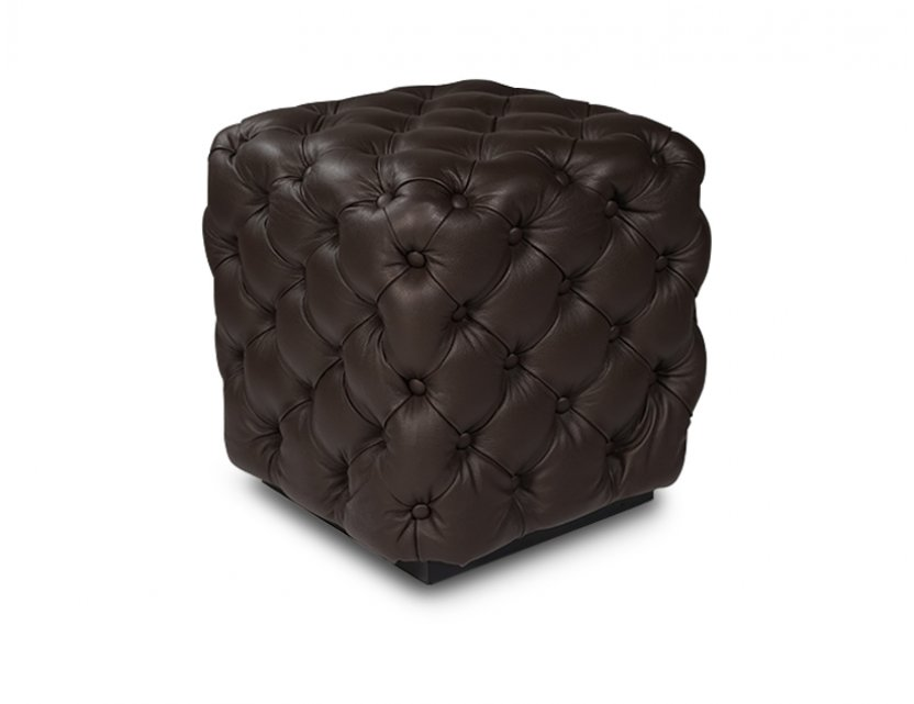 Chester Genuine Full Cowhide Leather Stool