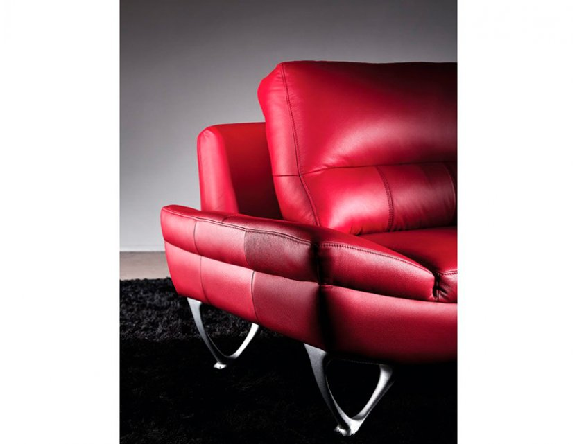 Blox 3 Seater Leather Sofa
