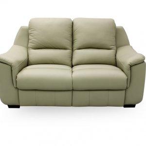 Concerto 2 Seater Leather Motorised Recliner Sofa