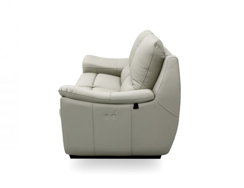 Concerto Motorised Leather Recliner Sofa with High Backrest