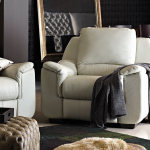 Concerto 1 Seater Leather Motorised Recliner Armchair
