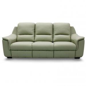 Concerto 3 Seater Leather Motorised Recliner Sofa