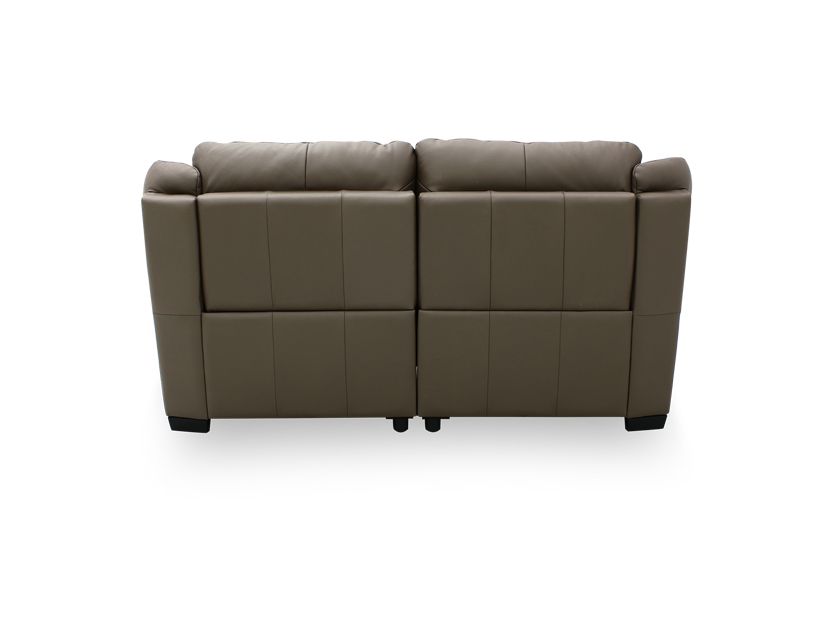 Delaere 2 Seater Leather Motorised Recliner Sofa
