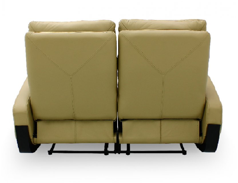 Glide 2 Seater Leather Armchair Recliner Sofa