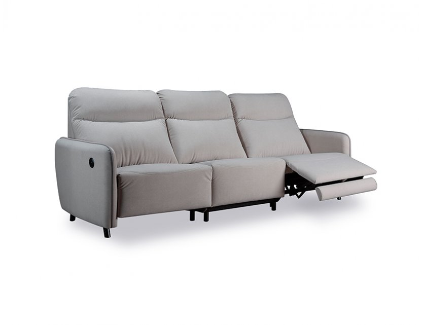 Homer 3 Seater Fabric Sofa