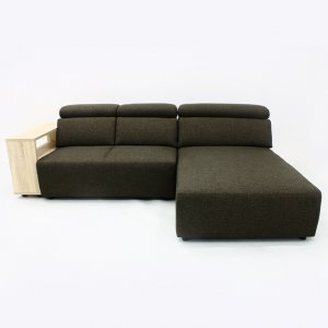 Karl L-Shape Fabric Sofa