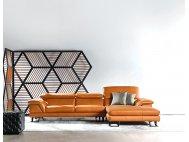 Korus L-Shape Leather Sofa