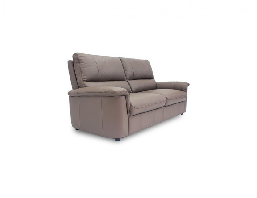 Lux 2 Seater Leather Sofa